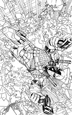 deathstroke vs deadpool coloring pages coloring home.html
