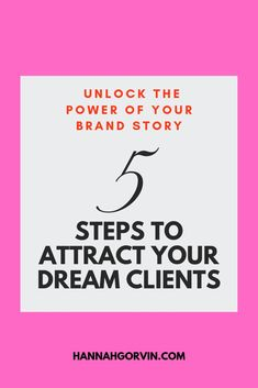 Learn how to stand out and gain the unfair advantage on your competition to attract your dream clients in five key steps in my free guide. Brand Story, Personal Branding, Brand Identity, Entrepreneurship, Crowd, Attraction, Dreaming Of You, Finding Yourself, Told You So