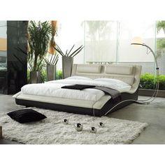 Matisse Napoli Modern Platform Bed (King Size), Black