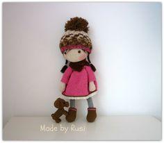 Amigurumi häkeln Doll  Rusi Puppen-reserviert für von RusiDolls