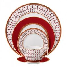 Wedgewood Renaissance Red 5-Piece Place Setting