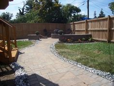 Paver Patio with Fire Pit - exterior - baltimore - by American Deck and Patio