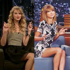 The Tonight Show with Jimmy Fallon! 2009 - 2014! Wow, look how she's grown!