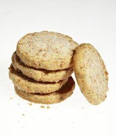 Coconut slice cookies