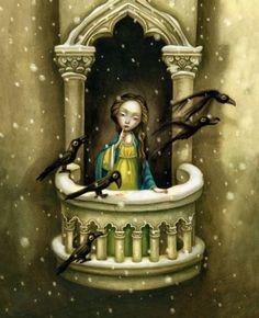benjamin lacombe #illustration #infantil #dibujo
