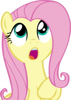 Fluttershy Vector - 05 Amazed by CyanLightning on DeviantArt Fluttershy, Mlp, Discord, Tikal, Amy Rose, Pokemon, Imagenes My Little Pony, Some Beautiful Pictures, Barbie Toys