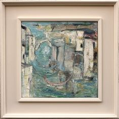 """'Grand canal Venice"""" oil on canvas 47 cm Grand Canal Venice, Nick Nacks, Oil On Canvas, Vintage World Maps, Creativity, Butterfly, Paintings, Abstract, Instagram"""