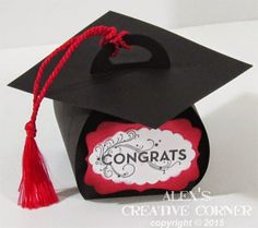 curvy keepsake, SU, gift box, graduation