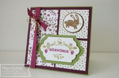 Stampin' Up, Thankful Forest Friends, Herbstkarte