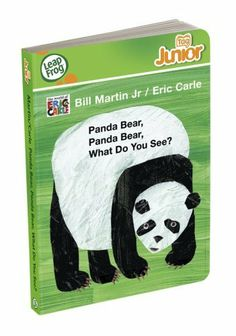 """LeapFrog Tag Junior Book: Panda Bear, Panda Bear, What Do You See? by LeapFrog. $24.99. From the Manufacturer                """"Learn about animals wild and free through the wonderful lens of Eric Carle. This Tag Junior board book springs to life when you touch the Tag Junior book pal to any part of any page. More than 24 playful activities and 150 audio responses encourage little ones to explore while helping build confidence with books. Parents can connect to the ..."""