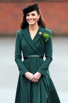 Kate Middleton: Her 29 Best Looks:  in Green