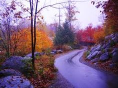 New England in the fall.....