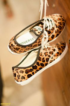 leopard converse - on the wish list!
