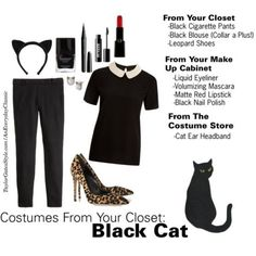 halloween cat costume an everyday classic - Cat Costume Ideas Halloween