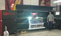 Servicio de calibración de color de impresora Uv roll to roll