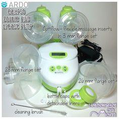 Ardo Calypso- super quiet, comfortable and efficient breast pump.#breastfeeding