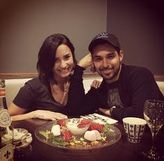 Demi Lovato Wants Proposal From Wilmer Valderrama: 'I.: Demi Lovato Wants Proposal From Wilmer Valderrama: 'I Wouldn't Mind… Cute Celebrity Couples, Cute Couples, Demi Wilmer, Demi Lovato Wilmer Valderrama, Lost Village, Lily Collins, Delena, Her Music, New Puppy