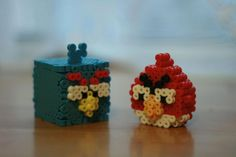 3D Angry Birds hama beads by inurave