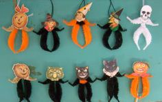 Trendy Bindi's Bits of Bliss: Halloween Ornaments