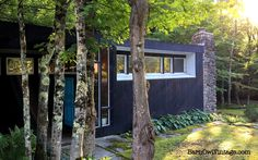 Untouched: Mid-Century Modern Home in Vermont. Take a peek inside this warm and cozy 1960s time capsule full of character and charm.  Open land on the front, trees around and a rushing creek in the back.