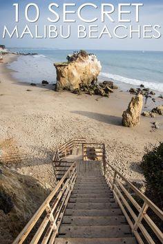 Malibu's Ten Best Secret Beaches via @cathroughmylens