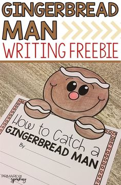 Students will love writing about how to catch a gingerbread man with this free set of templates.  It would make for a great December bulletin board display too!