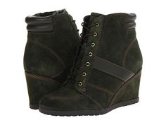 naturalizer paitlyn green wedge sneakers