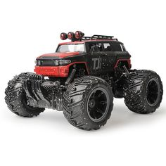 42.99$  Buy here  - ET RC Car SUV Off-road RC Vehicles 2.4G RTR low-lying land mud Car Damping Toy Car Remote Car Model with Painted Body