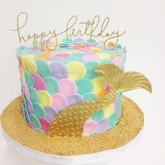 Mermaid cake by Erin