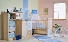 Lizi blue nursery / Lizi kék babaszoba