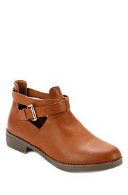 CUT OUT ANKLE BOOT