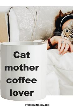Items similar to Cat mom - Cat mother coffee lover-Pet Owner gift, Cat mom gift mug on Etsy Coffee Mug Quotes, Coffee Humor, Best Dad Gifts, Gifts For Husband, Customised Mugs, Just Because Gifts, Cool Mugs, Mom Day, Funny Mugs