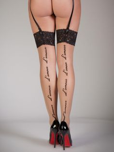 On the second day of Christmas my true love sent to me:  2 pairs of stockings, yes please!