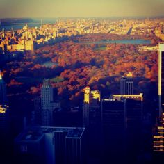 Top of the Rock NYC. Taken by yours truly.