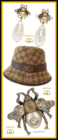 Rings Cool, Gucci Accessories, Queen Bees, Sunnies, Wedding Bands, High Fashion, Fashion Jewelry, Feminine, Bling
