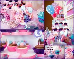 Sweetshop Birthday party, Candy Buffet