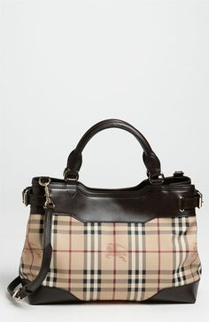 Burberry 'Haymarket Check' Tote.  Best purse I have ever owned and will ever own!