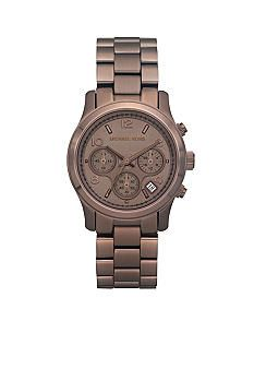 Michael Kors Espresso Multifunction Watch #belk #watch