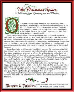 Related image Halloween Christmas Tree, Christmas Spider, Christmas Neighbor, Diy Christmas Ornaments, A Christmas Story, All Things Christmas, Winter Christmas, Christmas Poems, Christmas Traditions