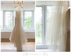 Wedding Dress all ready at Whirlowbrook Hall