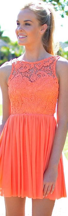 such a great color for summer. In Between Dreams Lace Dress