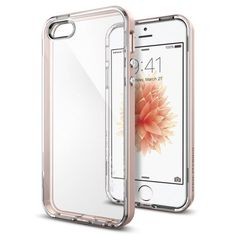 Köp Spigen iPhone SE Case Neo Hybrid Crystal Rose Gold online: http://www.phonelife.se/spigen-iphone-se-case-neo-hybrid-crystal-rose-gold