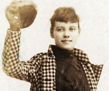 Nellie Bly was one of Vic's hero's.  There is a neat story about her near the end of her trip around the world if you go to the source of this photo. http://www.sparkletack.com/2009/01/19/san-francisco-timecapsule-011909/ Learn more about Vic at http://www.vicplanet.com