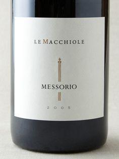 Le Macchiole - Messorio 2005 (95 points) Sbronzi tour 2011