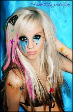Fantasy Makeup | kiki fantasy makeup by ~AkadeLLaLetMeFly on deviantART