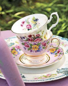 Motivi floreali per le tazze
