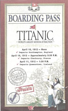 Boarding the Titanic