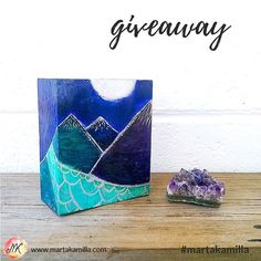 Starting the week with another surprise on the final day of my birthday month. Yes there is another prize  in my giveaway  WIN  ORIGINAL PAINTING   from the series Journey to the Moon   As a thank you for all your support and love I am hosting a birthday month giveaway   Winner of this miniature original painting from my Journey to the Moon series will be drawn on Friday 4th August. To enter the giveaway: 1. Follow @martakamilla  2. Tag a friend (or two or more) below in comments  3. For…