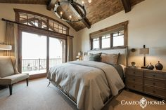 Guest Bedroom in Park City,  Utah by Cameo Homes Inc.