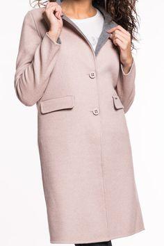 Mantel Satellite von Liu Jo   langärmlig  Paspeltaschen mit Patte  einreihiger Knopfverschluss  Metropolitan-Style  normaler Schnitt  Material: 50% Wolle, 50% Polyester
